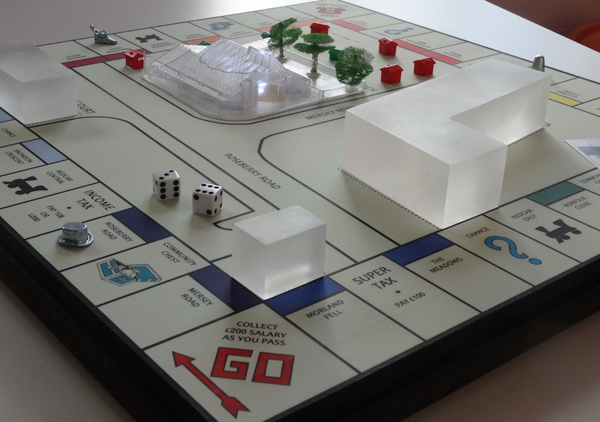 'monopoly' site model