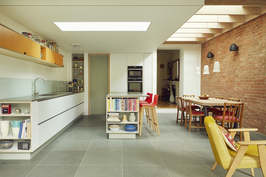4.2.Proposed_Kitchen:Dining from sliding doors